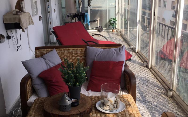 Renovierte zentrale Wohnung im Zentrum von Altea
