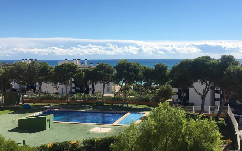 Wohnung mit Meerblick in Villajoyosa