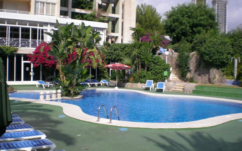 Schöne Wohnung in Benidorm mit Meerblick in Poniente Beach